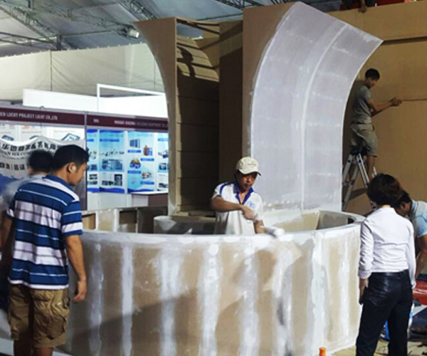 Commercial booth company Ho Chi Minh City